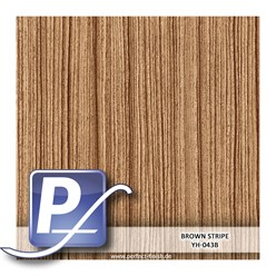 Water Transfer Compression Film YH-043B | 60cm BROWN STRIPE