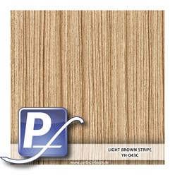 Wassertransferdruck Film YH-043C | 60cm LIGHT BROWN STRIPE