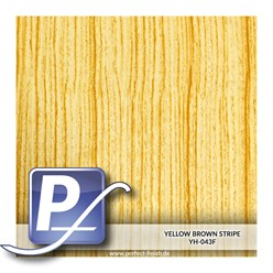 Wassertransferdruck Film YH-043F | 60cm YELLOW BROWN STRIPE