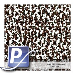 Water transfer printing film YH-054A | 60cm SMALL BROWN CAMO