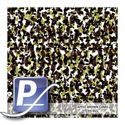Water Transfer Printing film YH-055 | 60cm APPLE BROWN CAMO