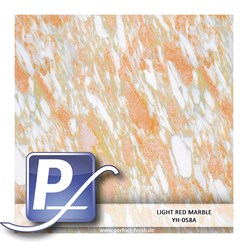 Wassertransferdruck Film YH-058A | 50cm LIGHT RED MARBLE
