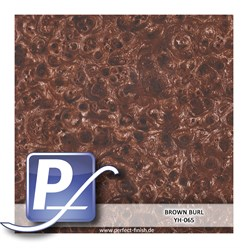 Wassertransferdruck Film YH-065 | 60cm BROWN BURL
