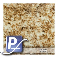 Water Transfer Printing film YH-068A | 50cm GOLD BURL