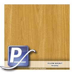Wassertransferdruck Film YH-075C | 60cm YELLOW WALNUT