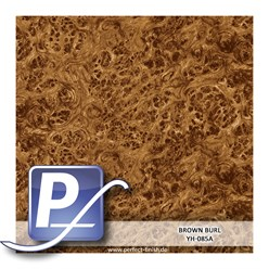 Wassertransferdruck Film YH-085A | 60cm BROWN BURL