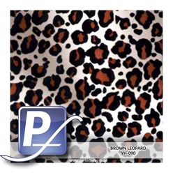 Water Transfer Compression Film YH-090 | 50cm BROWN LEOPARD