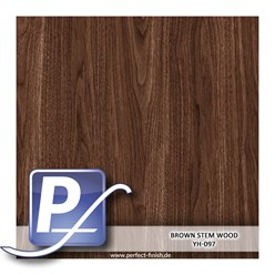 Wassertransferdruck Film YH-097 | 60cm BROWN STEM WOOD