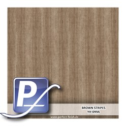 Water transfer printing film YH-099A | 50cm BROWN STRIPES