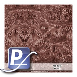 Wassertransferdruck Film YH-101 | 60cm RED BURL