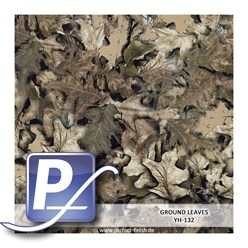 Water transfer printing film YH-132 | 60cm GROUND LEAVES