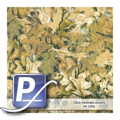 Water transfer printing film YH-132A | 60cm COLD GROUND LEAVES