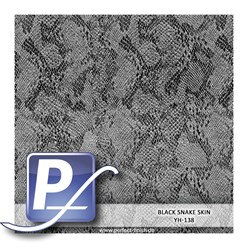 Water transfer printing film YH-138 | 60 cm BLACK SNAKE SKIN