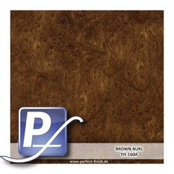 Wassertransferdruck Film YH-160A | 100cm BROWN BURL