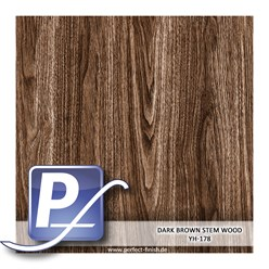 Water Transfer Compression Film YH-178 | 60cm DARK BROWN STEM WOOD