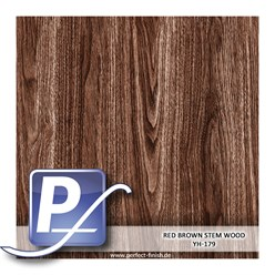 Water Transfer Compression Film YH-179 | 60cm RED BROWN STEM WOOD