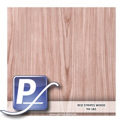 Water Transfer Compression Film YH-181   60cm RED STRIPES WOOD