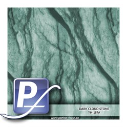 Wassertransferdruck Film YH-187A | 60cm DARK CLOUD STONE