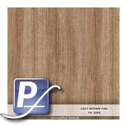 Wassertransferdruck Film YH-204B | 60cm GREY BROWN PINE