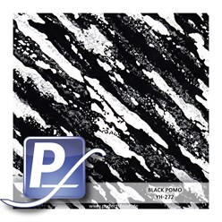Water Transfer Printing film YH-272 | 60cm BLACK POMO