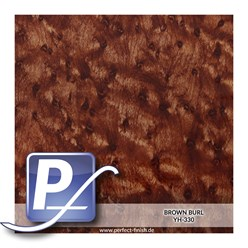 Wassertransferdruck Film YH-330 | 50cm BROWN BURL