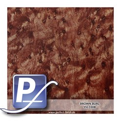 Water Transfer Compression Film YH-330B | 50cm BROWN BURL