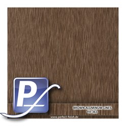 Wassertransferdruck Film YH-361 | 60cm BROWN ALUMINUM LINES