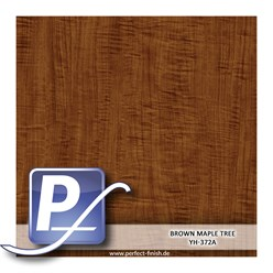 Wassertransferdruck Film YH-372A | 100cm BROWN MAPLE TREE