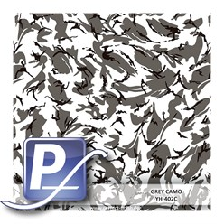 Water Transfer Printing film YH-402C | 60cm GREY CAMO