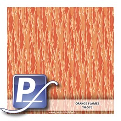 Wassertransferdruck Film YH-576 | 100cm ORANGE FLAMES
