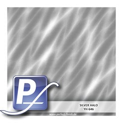 Water transfer printing film YH-646 | 50 cm SILVER HALO
