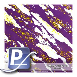 Wassertransferdruck Film YH-648A | 100cm YELLOW PURPLE POMO