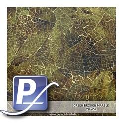 Water transfer printing film YH-652 | 50cm GREEN BROKEN MARBLE