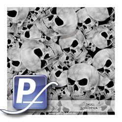 Water Transfer Printing film YH-D0152A | 100cm SKULL