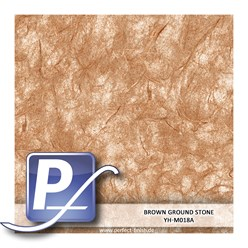 Wassertransferdruck Film YH-M018A | 60cm BROWN GROUND STONE