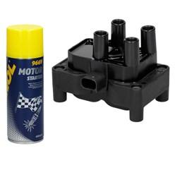 Zündspule Ford Volvo mit Motor Starter Spray 450ml
