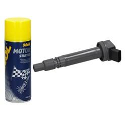 4 x Zündspule Toyota + Motor Starter Spray