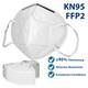 Atemschutzmaske FFP2 KN95 4-lagige Weiß