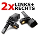2 x Raddrehzahl ABS Sensor vorne VW Skoda Audi