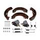 Bremsbacken + Radbremszylinder + Zubehörsatz Ford