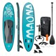 Stand Up Paddle Surf-Board 308 x 76 x 10 cm Türkis Maona