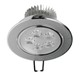 LED-Einbaustrahler, Warmweiß, 5W Rund
