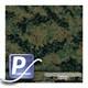 Wassertransferdruck Film WTP-272 | 100cm TIGER STRIPE-WOODLAND DIGITAL
