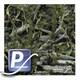 Wassertransferdruck Film WTP-444 | 60cm FISHOUFLAGE-WALLEYE MINI