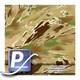 Wassertransferdruck Film WTP-716 | 100cm TIGER STRIPE-ALLTERRAIN TIGER (ATT)