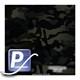 Wassertransferdruck Film WTP-787 | 100cm MULTICAM BLACK
