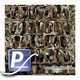 Wassertransferdruck Film WTP-885 | 100cm BULLGATOR CAMOUFLAGE