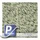 Wassertransferdruck Film YH-047 | 50cm FROST GOLD GREEN WHITE