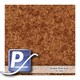Wassertransferdruck Film YH-195A | 60cm BROWN DRIED BURL