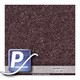 Wassertransferdruck Film YH-350 | 50cm BROWN SLATE